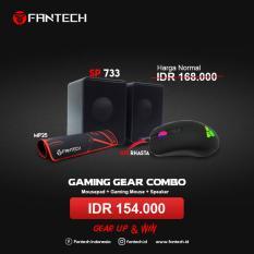 Set Gaming Gear Combo Fantech Mouse G10 + Speaker Sp733 + Mousepad Mp25