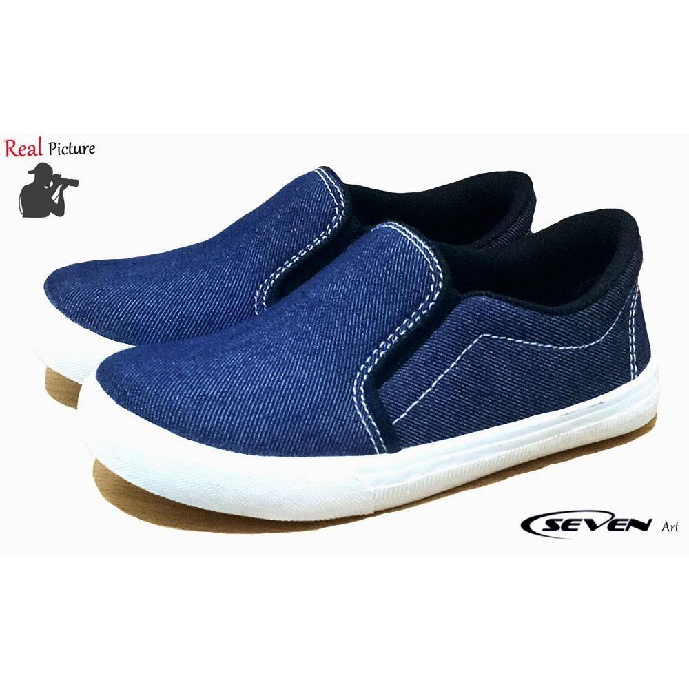 Seven Sepatu Anak Denim-MGN