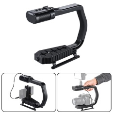 Sevenoak MicRig Stereo Video & Pegangan Rekaman Audio With Mikrofon 1 Stop Solution For DSLR Camcorder Aksi Kamera smartphone ^ -Intl