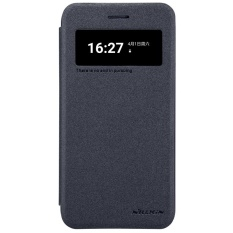 Sfor LG K10 2017 Case Smart Cover LGM250 K10 Nova NILLKIN Sparkle PU Leather Case untuk LG K10 2017 M250 LGM250N X400 Auto Tidur-Internasional