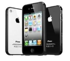 Spigen iPhone 4s Linear Ex Color - Soul Black