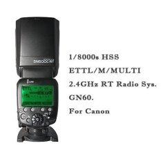 Shanny SN600C-RT Radio nirkabel TTL budak Flash kamera Speedlit 1/8000s Radio TTL di depan kamera GN60 untuk Canon
