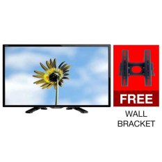 Sharp 24 24LE170i LED AQUOS TV LC-TT Hitam Free Bracket