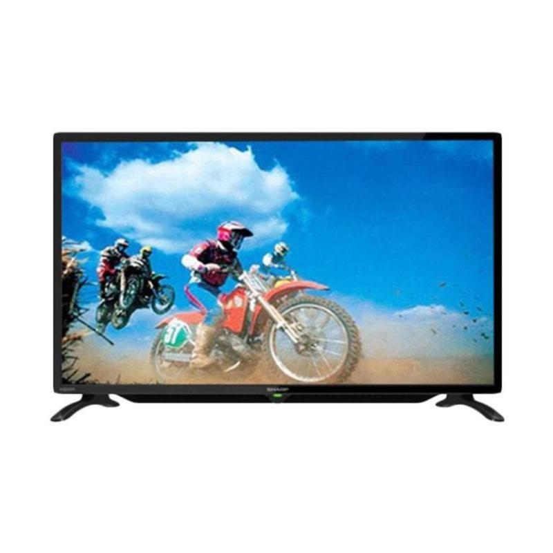 Sharp 32 Inch LED TV LC-32LE180I+ Bonus Bracket Dinding