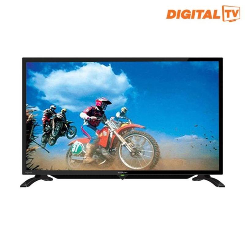 Sharp 32 LED Digital HD Ready TV - Hitam (Model LC-32LE295i) KHUSUS JABODETABEK (  untuk keluar kota wajib di packing kayu )