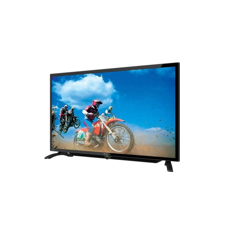 Sharp - 32 LED TV LC32LE180I - Hitam - Free Bracket
