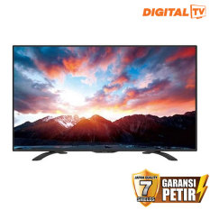 Jual Sharp 50 Led Digital Fhd Tv Hitam Model Lc 50Le275X Sharp Original
