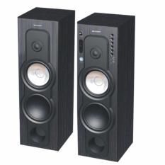 SHARP Active Speaker - CBOX-B880UBL - Hitam