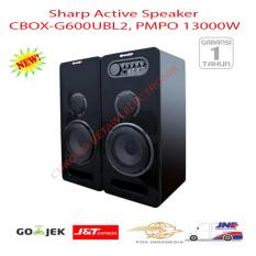 SHARP CBOX-G600UBL 2 Speaker Active - Hitam-Promo