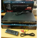 Jual Sharp Dvd Player Sharp Good Quality Bisa Putar Cd Bajakan Dan Original Lengkap