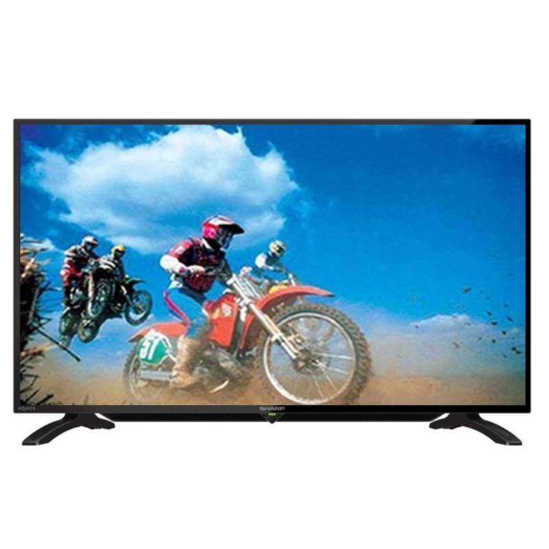 Sharp LC-40LE295 Aquos LED TV 40 - Hitam - Khusus Jabodetabek