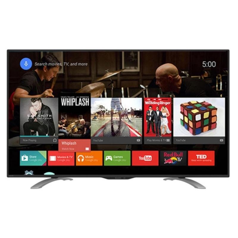Sharp LC-50LE580 Aquos Full HD Smart LED TV 50 - Hitam - Khusus Jabodetabek