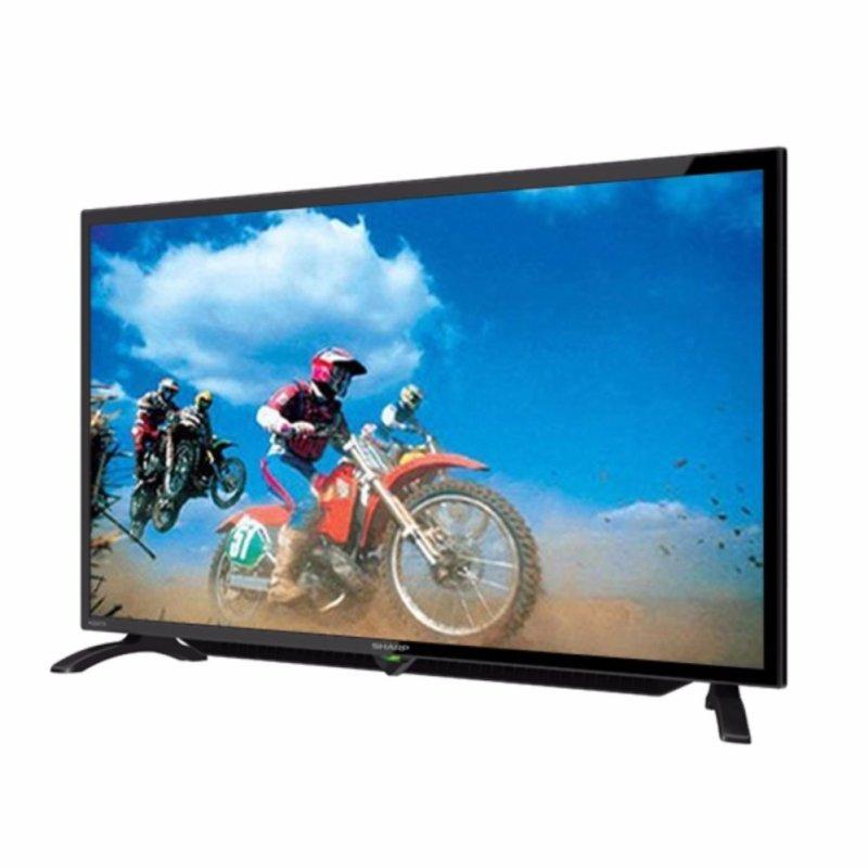 Sharp LC40LE185WH - 40 FULL HD LED TV - Gratis Bracket - Gratis Pengiriman Surabaya, Mojokerto, Kediri, Madiun, Jogja, Denpasar
