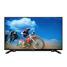 SHARP LED TV 40 Inch - 40LE185 - Hitam +BREKET - Garansi RESMI