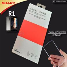 Sharp R1 Screen Protector Plus Softcase Terbaru