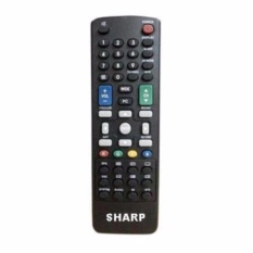 Sharp Remote Control Tv LCD LED Semua ukuran  - Hitam