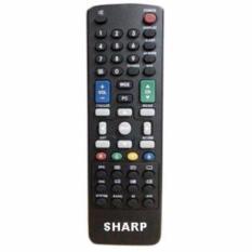 Daftar Harga Sharp Remote Lcd Led Cocok Untuk Semua Tv Led Sharp Conec Hitam Sharp