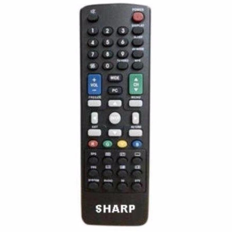 Sharp Remote LCD/LED cocok untuk semua tv led sharp conec -hitam