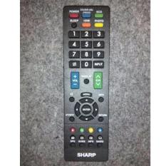 Jual Sharp Remote Tv Led Lcd Universal Hitam Satu Set