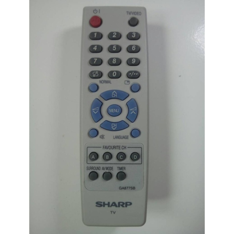 Sharp Remote TV Tabung GA797SB - Putih