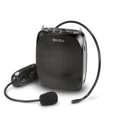 Harga Shidu Amplifier 10 Watt Uhf Wireless Dengan Headset Ikat Pinggang Leheruntuk Guru Pemandu Wisata Pelatihan Pertemuan Mendukung Perekaman Kartu Tf Mp3 Format Audio Warna Hitam Oem Baru