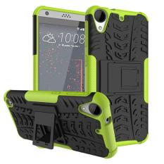 Shockproof Heavy Duty Combo Hybrid Rugged Dual Layer Grip Cover with Kickstand For HTC Desire 530/630 - intl