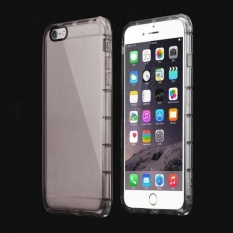 Shockproof Rugged Hybrid Karet TPU Cover Case untuk IPhone 6 S Plus 5.5 Grey-Intl