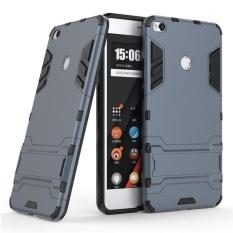 Shockproof dengan Fitur Kickstand Case untuk Xiaomi Mi Max 2 (6.44 Inch) 2 In 1 Hybrid Dual Layer Pelindung Armor Cover-Intl
