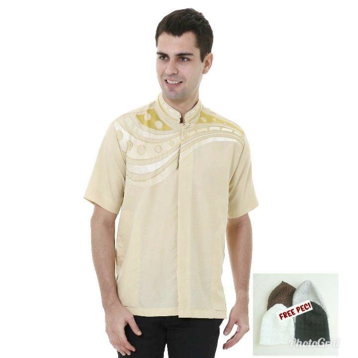 Spesifikasi Shohib Baju Koko Lengan Pendek Zubair Paling Bagus