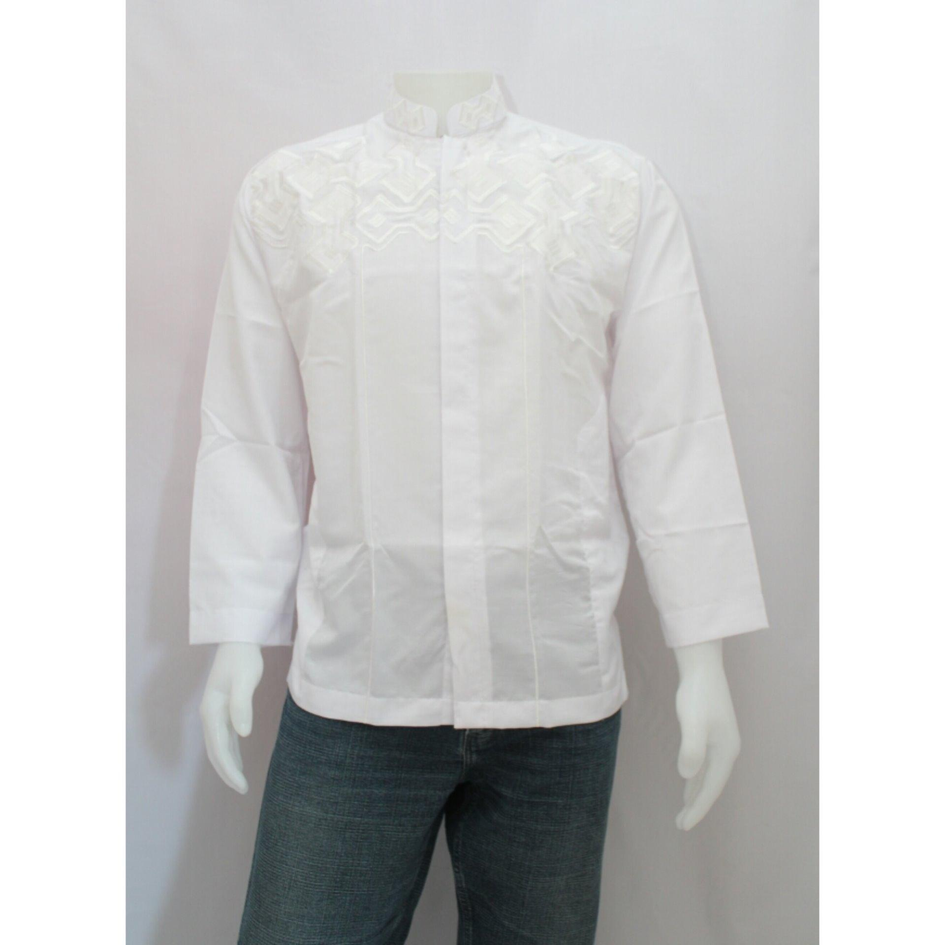 SHOHIB MEN MUSLIM WEAR WHITE ALI 01