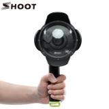 Jual Shoot 4 Inci Diving Underwater Lens Hood Transparan Kubah Lensa Housing Dome Port Untuk Yi 1 Sport Kamera Underwater Fotografi Tiongkok
