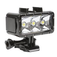 Cuci Gudang Shoot Led Waterproof Video Light For Gopro Brica Sjcam Xiaomi Yi