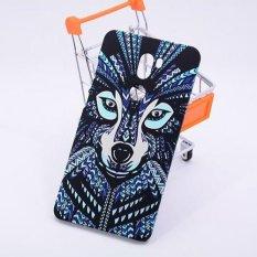 SHUNJIA [Night Luminous Glow] Wolf Pattern Hard Case Cover untuk Xiao MI 5 S