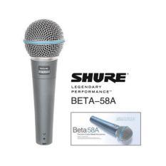 Harga Shure Beta 58 Mic Microphone Mikrofon Kabel Beta58 Shure