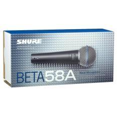 Harga Shure Beta 58A Mic Vocal Kabel Rex Mart New
