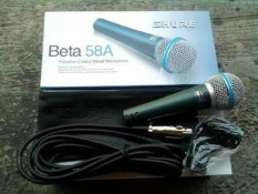 Berapa Harga Shure Mic Sm58 Kabel Di Dki Jakarta