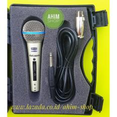 Harga Hemat Shure Sixtyears Beta 58A Tas Koper Exclusive Switch On Off Kabel Mic Supercardioid Dynamic Vocal Microphone