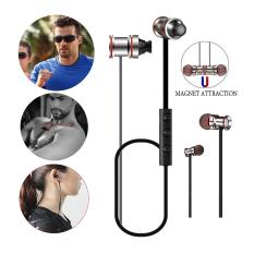 Jual Headphone Bluetooth Shuua Suara Tunas Bluetooth Di Telinga Earbud Olahraga Suara Super Bass Wireless Magnetic Membatalkan Bluetooth Earphone Headphone Headphone Mikrofon Untuk Olahraga Dengan Iphone 6 S Dan Perangkat Android Hitam Internasional Tiongkok Murah