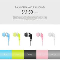 Kualitas Sicron Mall Earphone Sm50 New Sicron