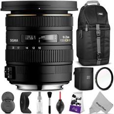Sigma 10-20mm F/3.5 EX DC HSM ELD SLD Wide-Angle Lensa untuk NIKON DSLR Kamera W Paket Foto dan Perjalanan Yang Penting-Intl