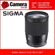 Sigma 16mm f/1.4 DC DN (C) MFT /Lensa Wide Angle