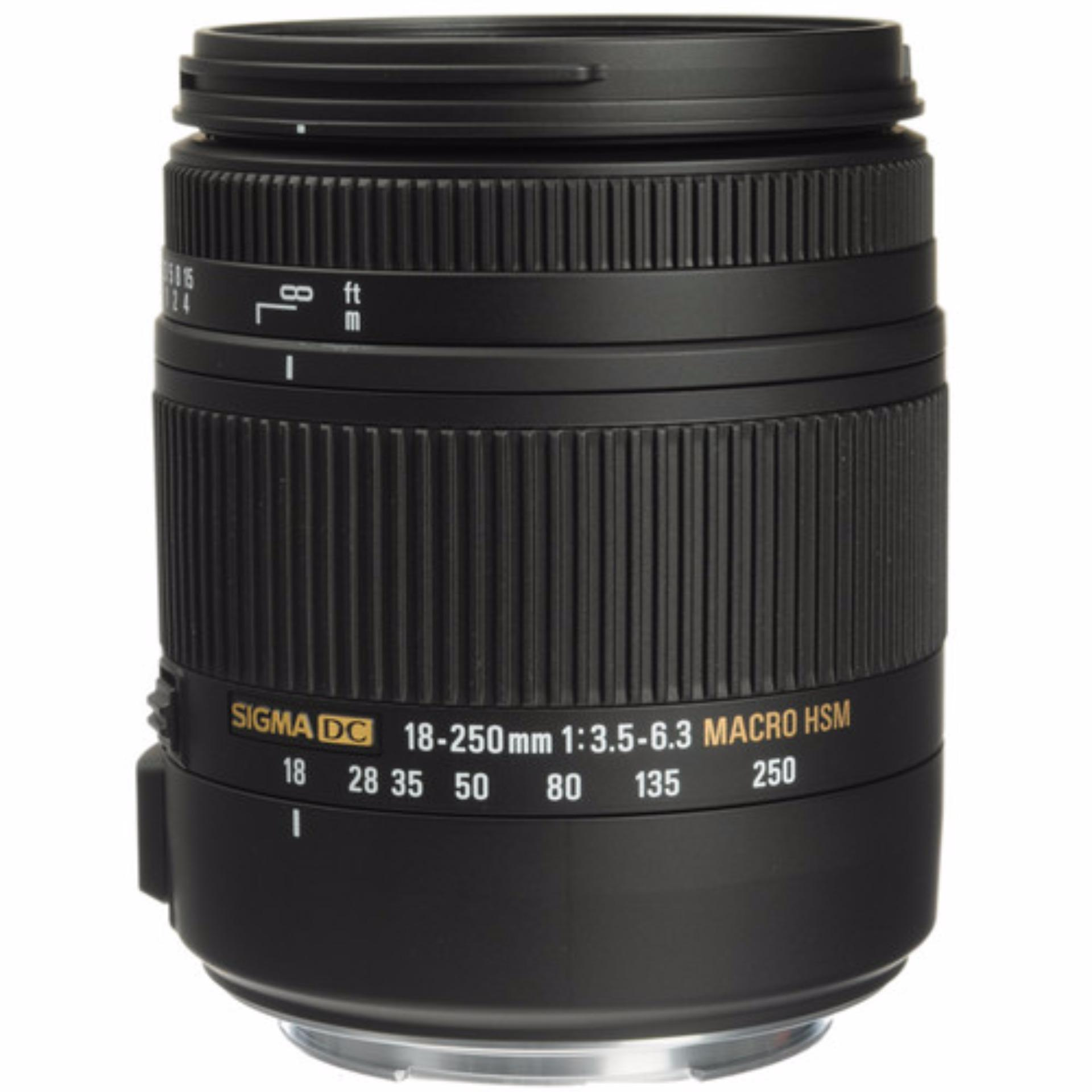 Sigma 18-250mm F3.5-6.3 DC MACRO OS HSM For Canon