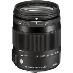 Sigma 18-250mm F3.5-6.3 DC Macro OS HSM for Sony- Hitam