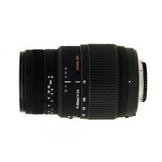 SIGMA 70-300 Mm F/4-5.6 DG Macro Bermotor Lensa Zoom Telephoto untuk Nikon Digital SLR kamera-Internasional