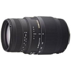 SIGMA 70-300 Mm F/4-5.6 DG Macro Zoom Potret Jarak Jauh Lensa untuk Canon Kamera SLR-Versi Internasional (Tidak Ada garansi) -Intl