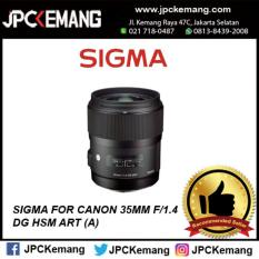 SIGMA FOR CANON 35MM F/1.4 DG HSM ART (A)