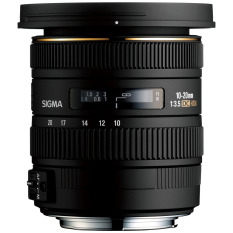 Sigma Lens 10-20mm f/3.5 EX DC HSM For Canon - Hitam