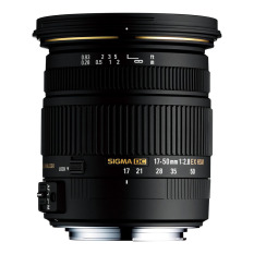 Sigma Lens 17-50mm f/2.8 EX DC OS HSM For Canon - Hitam
