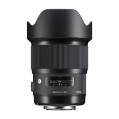 Sigma Lens 20mm f/1.4 DG HSM (A) For Canon - Hitam