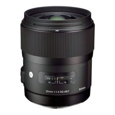 Sigma Lens 35mm f/1.4 DG HSM (A) For Canon - Hitam